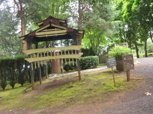 a torii at Torii Mor