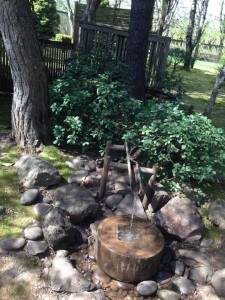 The garden at Torii Mor