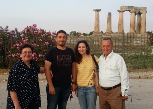 Greek organic wine producers, the Gioulis family