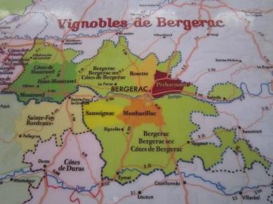 map bergerac