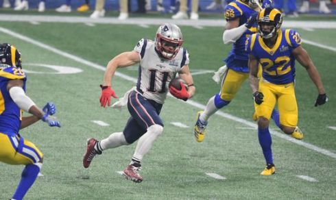 Edelman vs Rams